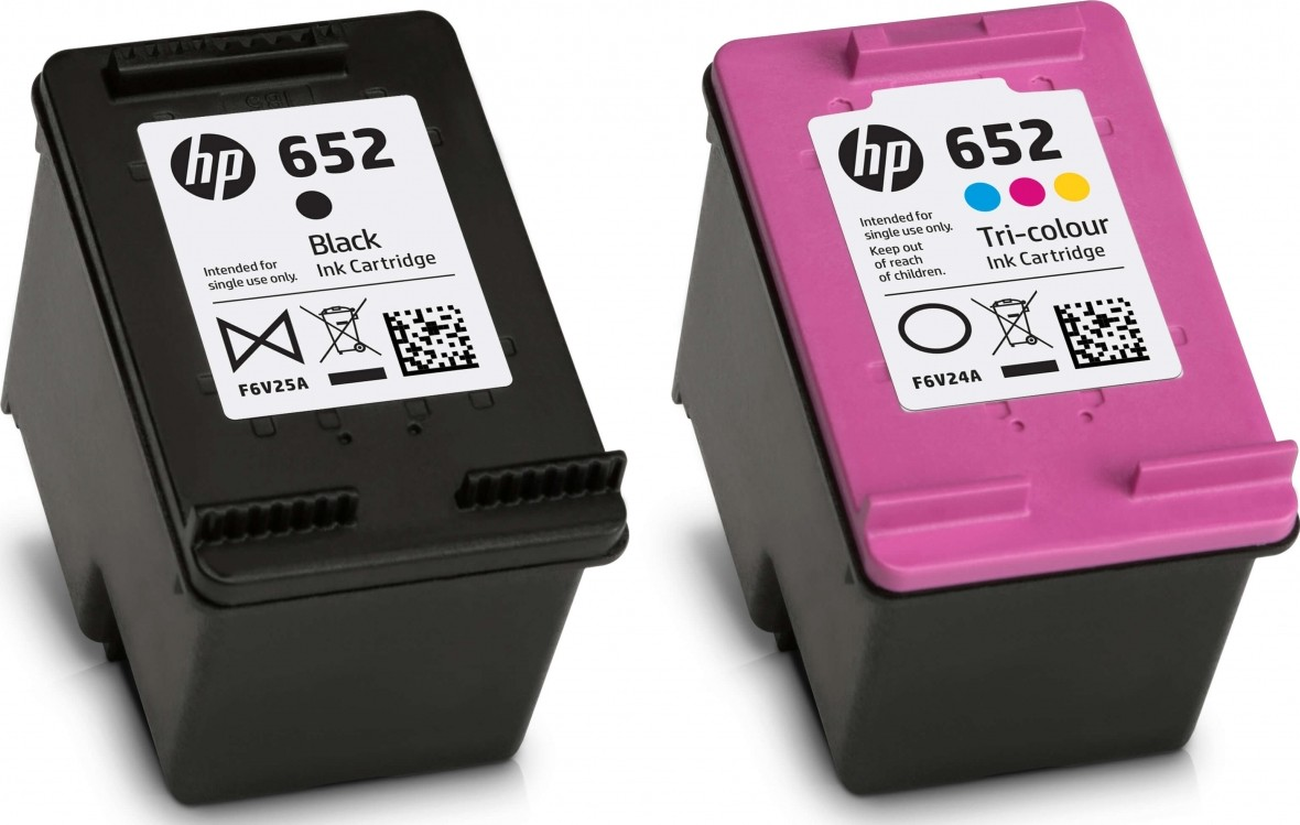 HP 652 BLACK & COLOR SET