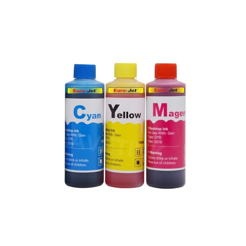 Set Canon 50ml Cyan Magenta Yellow