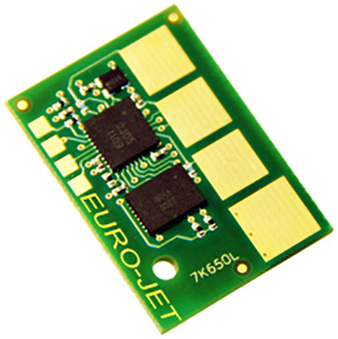 CHIP XEROX PHASER 6125 FOR YELLOW